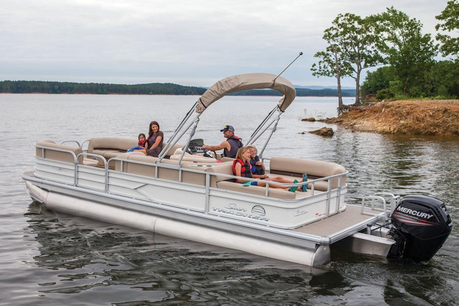 The Outboard Expert: Outboards for Pontoon Boats - boats com