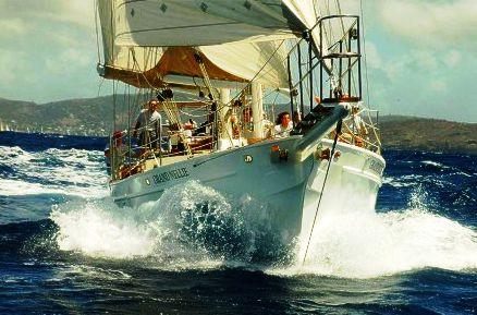 Classic Yachts at Antigua