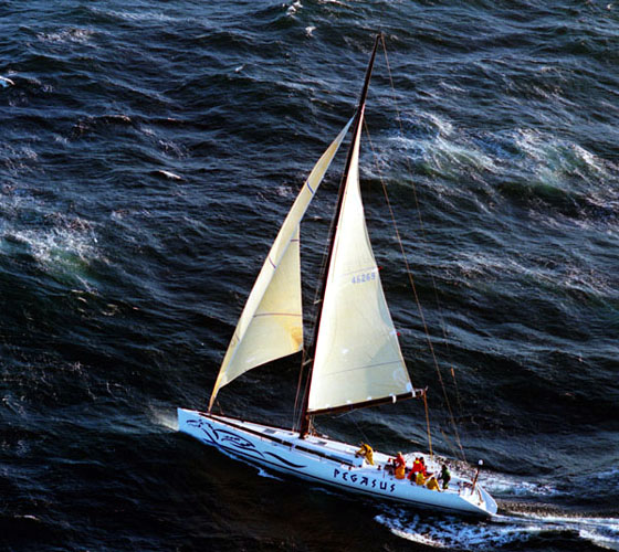 Transpac: Pegasus Wins Barn Door