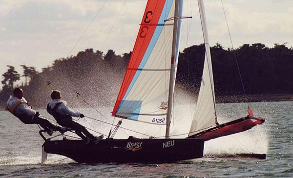 Performance Catamarans Nacra Blast: It's a Blast