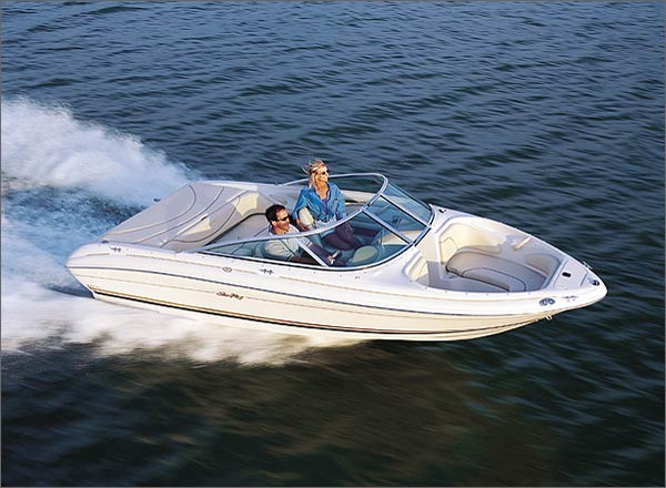 With standard power, the 185 Bow Rider should run in the mid-40-mph range.