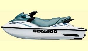 Sea-Doo has updated the styling of the GTI for 2001.