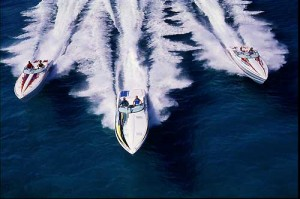 For those want to run fast offshore, deep-V performance boats are the most popular choice. (Photo courtesy Formula/Thunderbird Products)