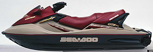 Sea-Doo's GTX 4-TEC will be available in early 2002.