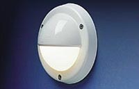 The Targa-Cap fixture is designed to reflect the light downward on a step or floor.