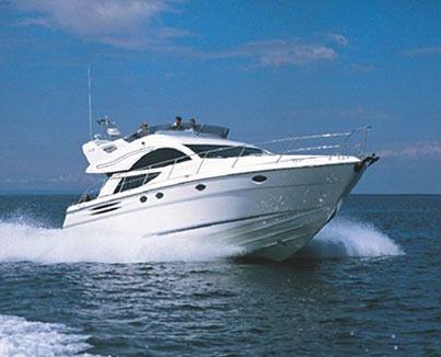 The Fairline Phantom 50 will be the flagship of the Phantom model line. (All photos courtesy Fairline Boats PLC)