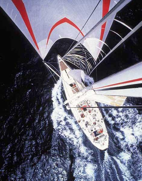 Going Aloft at Sea