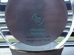 Yamaha WaveRunner FX140: Honored by Popular Science Readers thumbnail