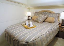All staterooms are equipped with comfortable sleeping accommodations.