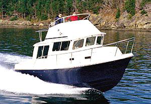 Sea Sport Voyager 3000: Sea Trial