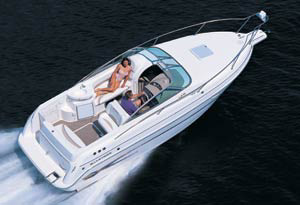 The all-new GS 279 is the largest of Glastron's Sport Cruiser Series, which also includes 22 and 24 foot models.