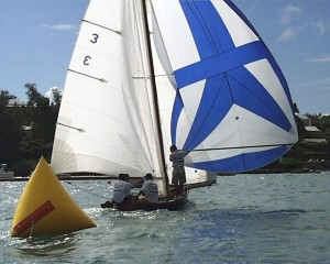 Bermuda Fitted Dinghy: Fourteen Feet--Crew of Six thumbnail