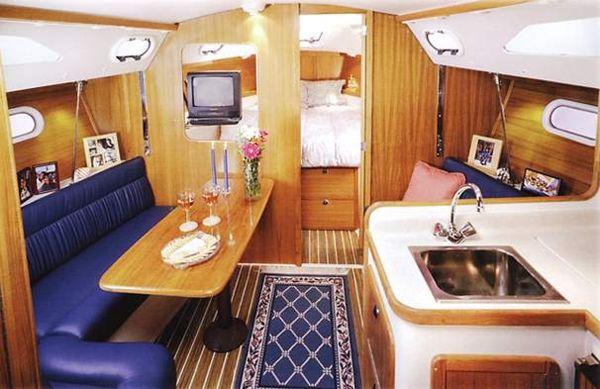 Small Sailboat Interior Design Ideas Best Accessories Home 2017