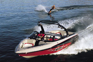 On the wakeboarding side, the Wakesetter 23XTi was phenomenal. (Photo by Tom Newby)