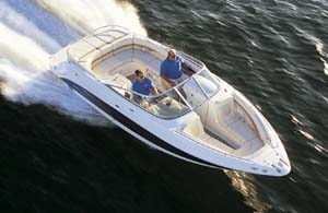 Everything about the open-bow 25-footer was designed to make life easy for passengers.