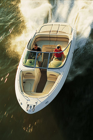 New for 2005, Chaparral introduced the 236 SSi in response to consumer demand for larger bow riders. (Photo by Tom Newby)