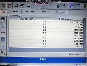 Diagnostic Scanner Mariner optimax 115