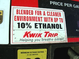 Ethanol fuel and outboard motors can be a bad combination. Avoid E-blended fuels when possible; use an extra filter if you can't.