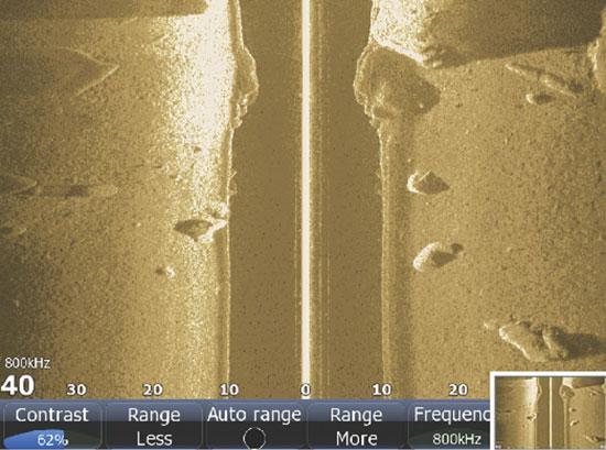 Lowrance StructureScan:  Seeing Sideways