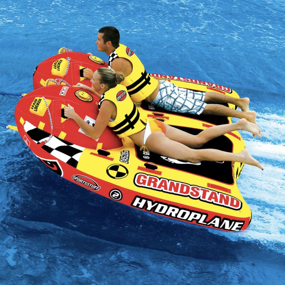 Proper tension used for inflatable