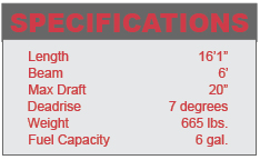 Lowe Stryker specifications