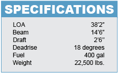 Luhrs 37 Specifications