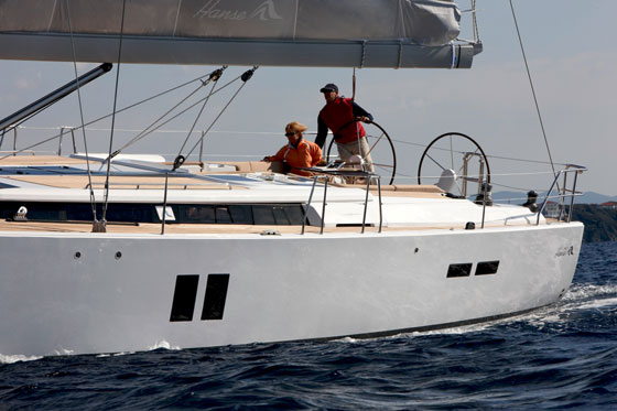 Hanse 545: A Serious and Stylish Offshore Performance Cruiser