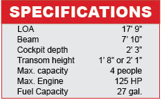 Lunc 1775 impact Sport specifications