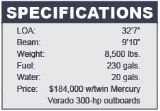 Intrepid 327 Open specifications