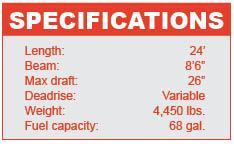 Supra 242 specifications