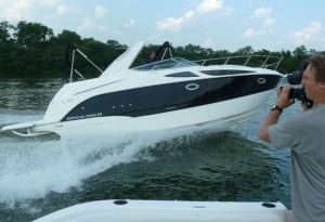 Bayliner 335 Cruiser Boat Test Notes
