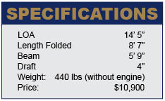 Ezy Boat specifications