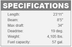 Stingray 235 LR specifications