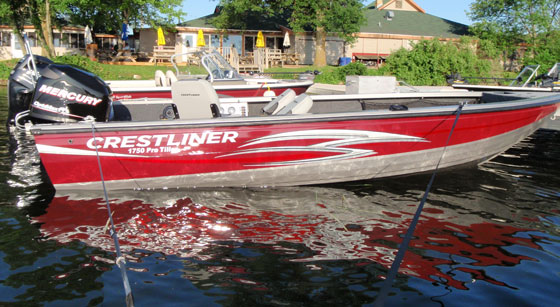 Crestliner 1750 Pro Tiller: Back to the Future thumbnail