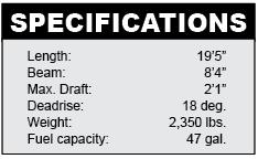 Nitro 290 Sport specifications