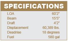 Sunseeker 53 specifications