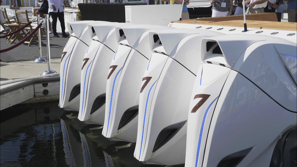 buying an outboard engine