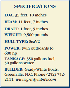 Grady-White 330 specifications