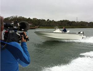 2012 Boston Whaler 210 Montauk Boat Test Notes