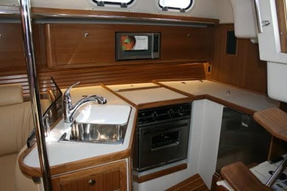 Catalina 385 galley