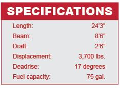 Starcraft 240 SCX specifications