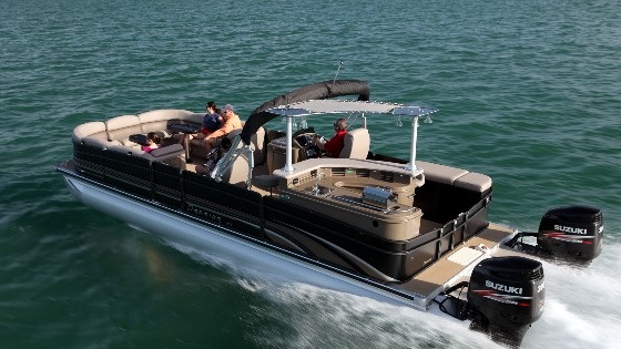 Premier 290 Grand Entertainer: A Wide Beam Pontoon Boat thumbnail