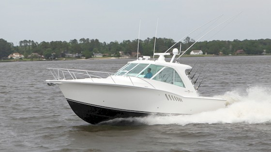 Albemarle 36 Enclosed Express Fisherman: Ignore the Weather
