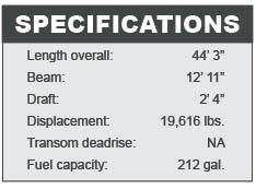 Beneteau Gran Turismo 44 specifications
