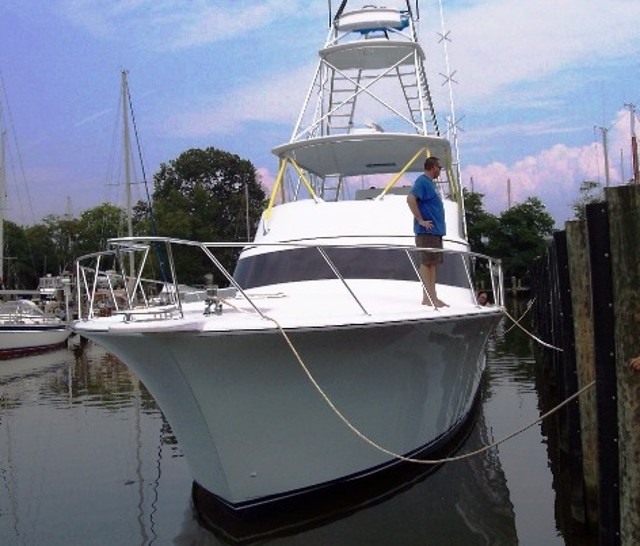 how to dock a boat