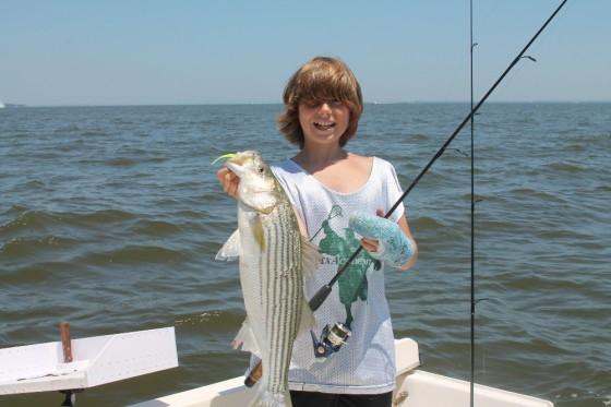 fishing on a parker 23 walkaround