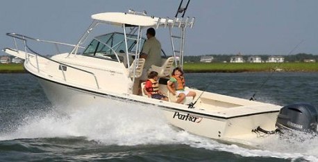 Parker 23 simple fishing boat
