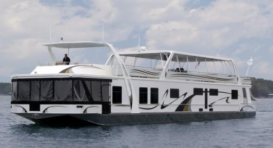 giant houseboat