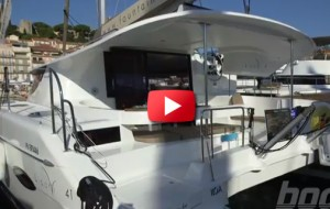 Fountaine-Pajot catamaran