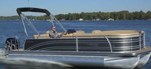 2014 Harris FloteBote Solstice 240: Video Boat Review thumbnail